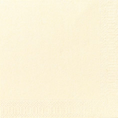 Zelltuch-Serviette champagne 3-lagig, 40 x 40 cm (4x250)